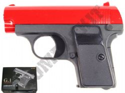 G1 Metal BB Gun Colt 25 Compact Replica Spring Pistol Black & 2 Tone Colours